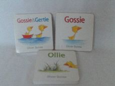 Adorable Set of Three My 1st Baby 'Gossie & Gertie' Chunky Board Books